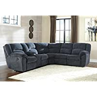 Signature Design by Ashley 6190005 Timpson Reclining Loveseat W/Console