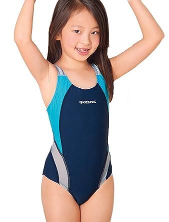 d4454e3764 Demarkt Kids Girl Swimming Training Costume Swimsuit Swimwear Monokinis