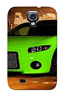 Awesome DxvjLWb5317eIZEj Ambleihp Defender Tpu Hard Case Cover For Galaxy S4- Green Custom Eclipse