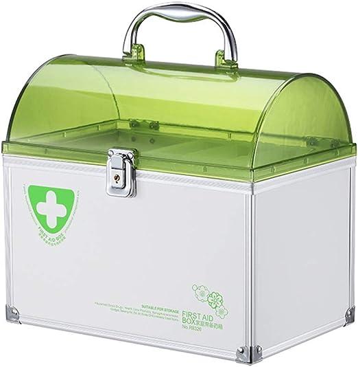 Jinxin-Joyero Caja de Primeros Auxilios Caja de medicamentos de ...