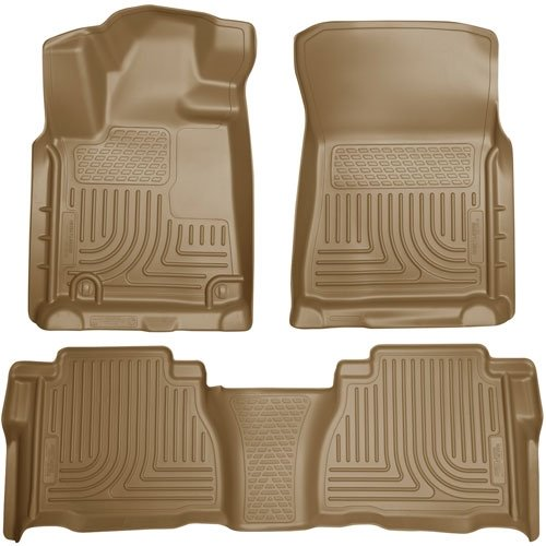 Husky Liners 98583 WeatherBeater Combination Front & 2ND Seat Floor Liners - (3
