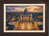 Thomas Kinkade - Vatican Sunset 24'' x 36'' Standard Number (S/N) Limited Edition Canvas (Burl)