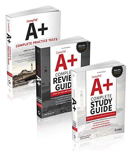 - CompTIA A+ Complete Certification Kit: Exam Core 1 220-1001 and Exam Core 2 220-1002