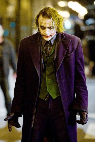 Heath Ledger The Dark Knight 24X36 Poster In Costume As The Joker]()