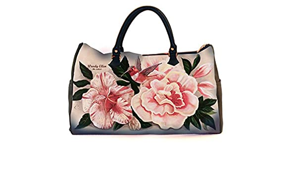 Travel Bag Honeybird Weekend Birthday Gift Gifts For Her Mom Woody Ellen Handbag Christmas Ideas At Amazon