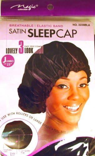 Breathable Elastic Band Satin Sleeping Cap FULL SIZE