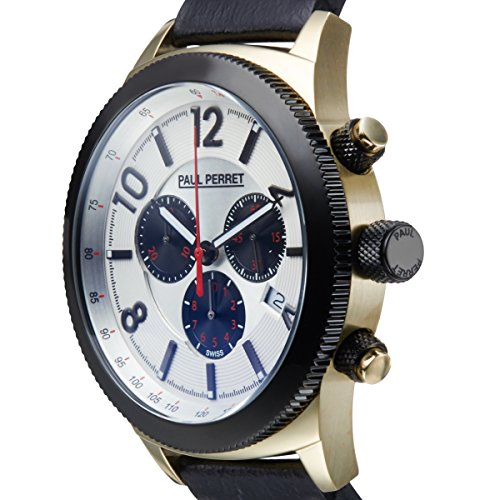Paul Perret Swiss Chronograph Gaston Mens Watch