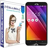 Cellbell Premium Asus Zenfone 2 Laser ZE500KL 5.0 inches Tempered Glass Screen Protector (Comes with Warranty,User guide,Complimentary Prep cloth)/Bronze Edition