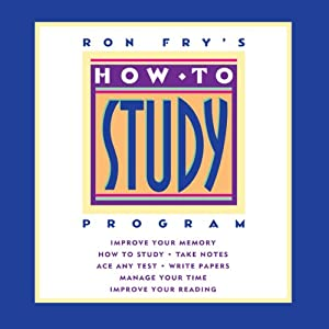 Ron Fry's How to Study Program Audiobook