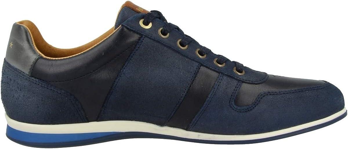 Pantofola d'Oro Low Asiago Uomo Low Baskets pour homme Robe Blues 10203036 29y