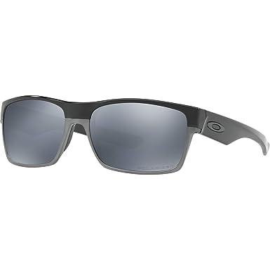 6ec4e4e67 Amazon.com: Oakley Twoface Polarized Rectangular Sunglasses,Polished ...