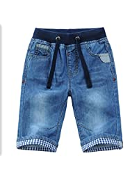SnoLyni Baby Boys Jeans Denim Pants Blue