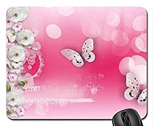 Spring Song Mouse Pad, Mousepad (Flowers Mouse Pad, Watercolor style)
