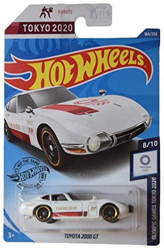 DieCast Hotwheels Toyota 2000 GT 184/250 [White/Tokyo 2020], Olympic Games Tokyo 2020