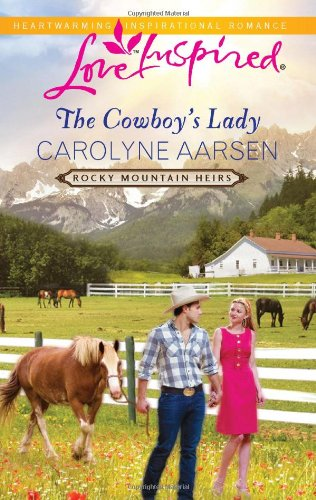 book cover of The Cowboy\'s Lady