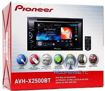 Pioneer AVH-X2500BT DVD Receiver Drivers