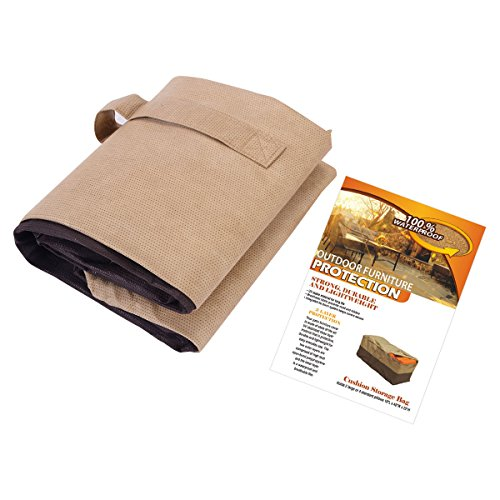 New outdoor cushion storage bag patio furniture chaise for Chaise cushion cover
