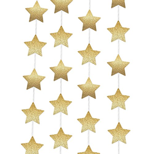 Gold Metallic Star - 7