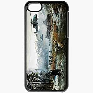 Personalized iPhone 5C Cell phone Case/Cover Skin Battlefield 4 Black