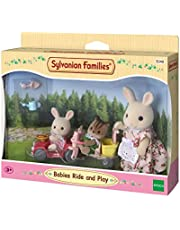 SYLVANIAN FAMILIES- Babies Ride and Play Mini muñecas y Accesorios, (Epoch para Imaginar 5040)