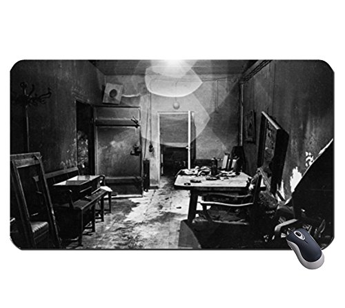Price comparison product image Hitler's Bunker - May 1945 1405606 super big mousepad Dimensions: 23.6 x 13.8 x 0.2(60x35x0.2cm)