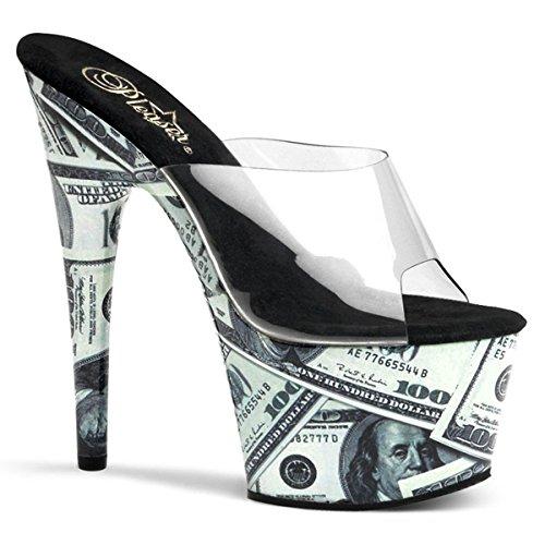 Pleaser Motif-701MO - sexy plateau talon hauts chaussures femmes sandalettes 35-43