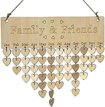 Peg Frame Letter Board Plaque Sign Home Decor Wedding Gift Idea