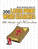Bobo Strategy Book of 200 Large Print Word Searches, Chris Cunliffe, 0981988156