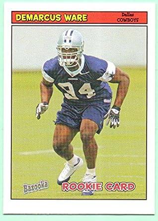 7ca30ca2d98 DeMarcus Ware 2005 Topps Bazooka Rookie #214 - Dallas Cowboys at ...