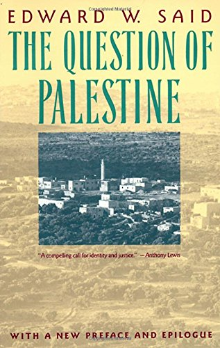 The Question of Palestine (Vintage)