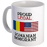 CafePress %2D Romanian Immigrant Mug %2D