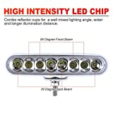 SMIX Waterproof Led Boat Lights, 6.5inch White