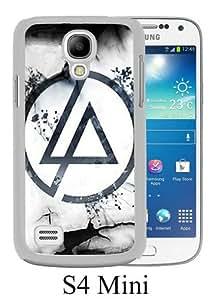Samsung Galaxy S4 Mini Case ,Fashion And Unique Designed Samsung Galaxy S4 Mini Case With Linkin Park 1 White Hight Quality Cover