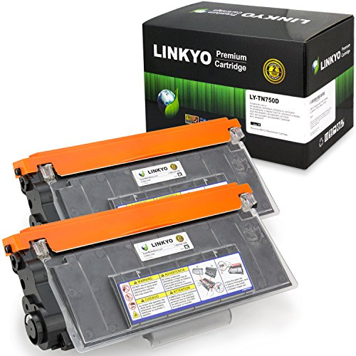 Linkyo Compatible Replacement for Brother TN750 TN720 Hig...