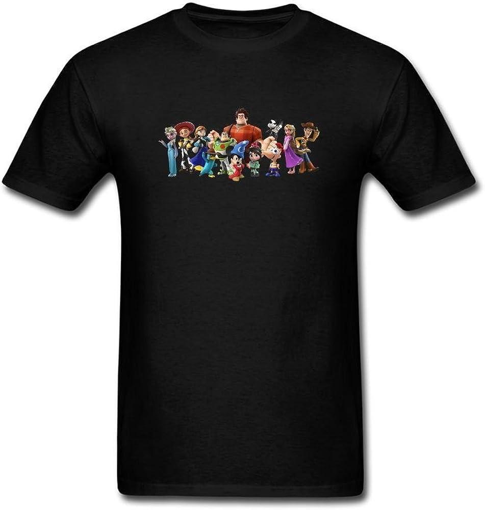 XIULUAN Men's Disney Infinity Video Game T-shirt