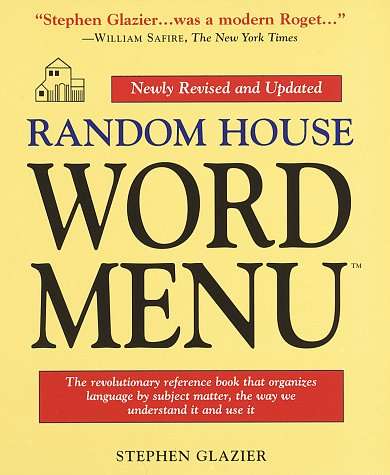 Random House Word Menu: Revised and Updated