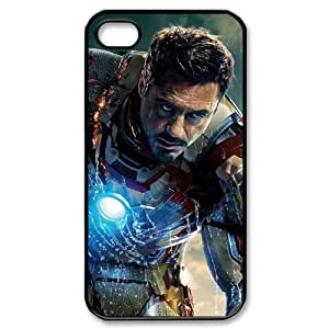 C-EUR Customized Print Iron Man Pattern Back Case for iPhone 4/4S