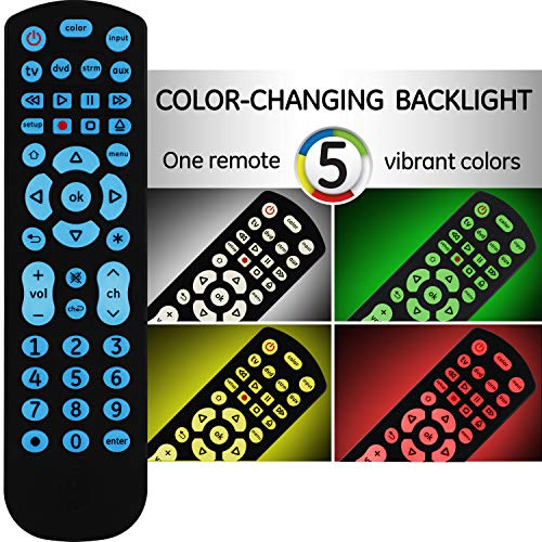 GE Color Select Backlit Universal Remote Control for Samsung