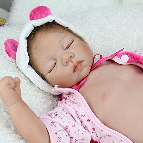 Nicery Reborn Baby Doll Soft Silicone Vinyl 22inch 55cm