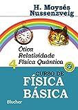 capa de Curso de Física Básica: ótica, Relatividade, Física Quântica (Volume 4)