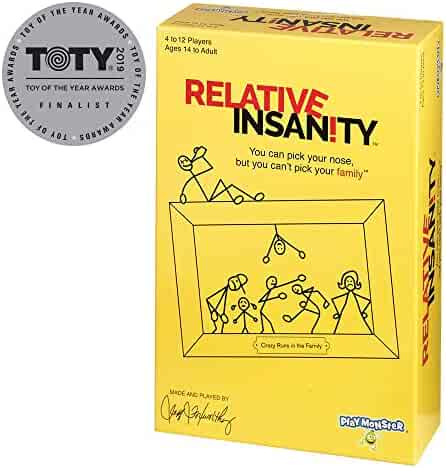 Relative Insanity Party Game About Crazy Relatives -- Made & played by Comedian Jeff Foxworthy!