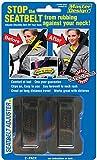 Masterlink Marketing Black Seatbelt Adjuster, (Pack of 2)