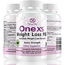 One XS Weight Loss Diet Pills Pharmaceutical Grade Weight Loss Supplement. Appetite Suppressant Fat Burner. Extra Strength. 60 Diet Pills. 2 Month Weight Loss.