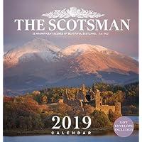 The Scotsman Wall Calendar 2019: 12 Magnificent Scenes of Beautiful Scotland