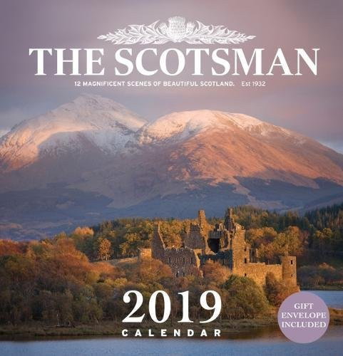 national geographic scotland 2019 wall calendar