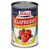 Solo Filling, Raspberry, 12-Ounce Unit (Pack of 12)