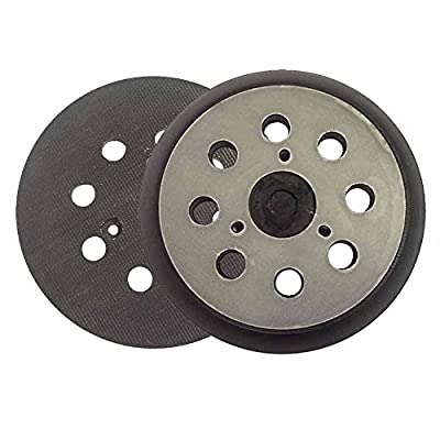 "Superior Pads and Abrasives RSP26 5"" Dia 8 Hole Sander Hook and Loop Pad Replaces DeWalt OE # 151281-08"