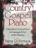 Country Gospel Piano, Barny Robertson, 0834173131