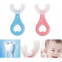 ZKPBTIZL 2 STKS All Rounded Children U Shape Tandenborstel - Gevormde Handmatige Tandenborstel, All Round Cleaning…