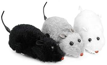 COM de Four® 3 x aufziehbare juguete Ratón para gatos, gato juguete, automáticamente, 18,5 cm: Amazon.es: Hogar